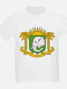 Cote Divoire Coat of Arms T-Shirt