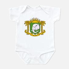 Cote Divoire Coat of Arms Infant Bodysuit