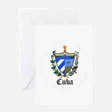 Cuban Coat of Arms Seal Greeting Card