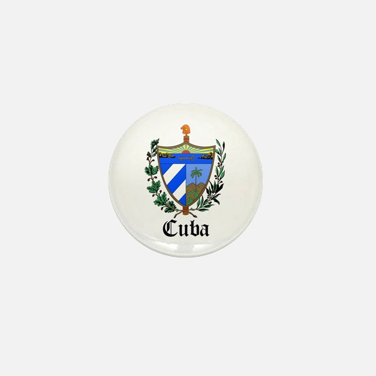 Cuban Coat of Arms Seal Mini Button