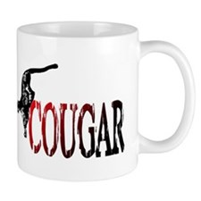 Hunting Cougar design Mug