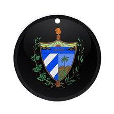Coat of Arms of Cuba Ornament (Round)