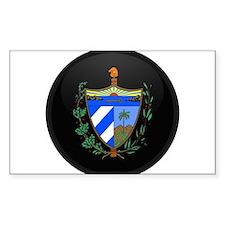 Coat of Arms of Cuba Rectangle Decal