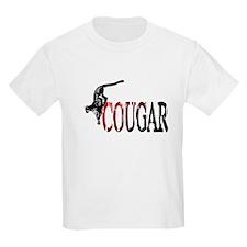 Hunting Cougar design T-Shirt