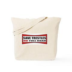 SAVE TRESTLES! Tote Bag