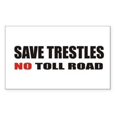 SAVE TRESTLES! Rectangle Decal