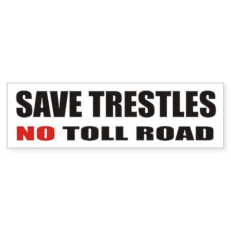 SAVE TRESTLES! Bumper Sticker