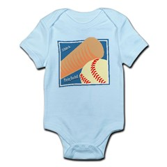IRB Playing Baseball Infant Bodysuit