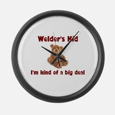 Welder's Kids Large Wall Clock
