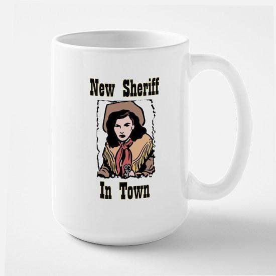 """""""New Sheriff"""" Large Mug"""