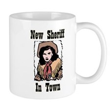 """New Sheriff"" Mug"
