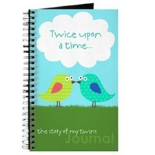 Twice upon a time Journal for Twins