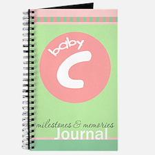 Baby C Milestones & Memories Journal