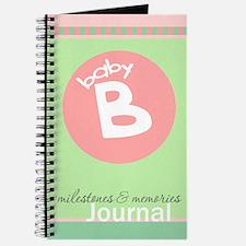 Baby B Milestones & Memories Journal