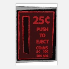 Push To Eject Postcards (Package of 8)