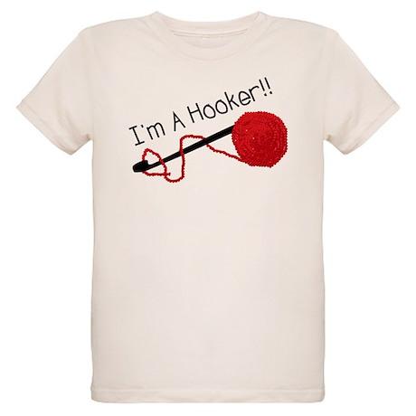 I'm a Hooker Organic Kids T-Shirt