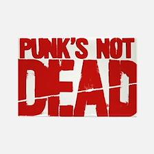 Punk's Not Dead Rectangle Magnet