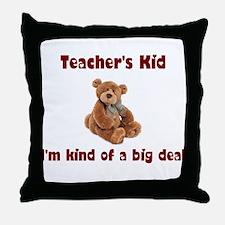 School Teacher Throw Pillow
