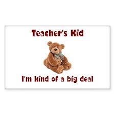 School Teacher Rectangle Sticker 10 pk)