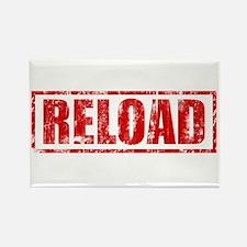 Reload! Rectangle Magnet