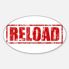 Reload! Oval Decal