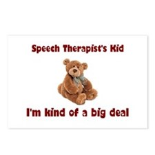 Speech Therapist Postcards (Package of 8)