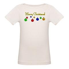 Ornament Merry Christmas Organic Baby T-Shirt