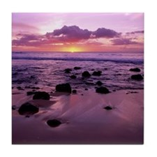 Molokai Sunset Tile Coaster