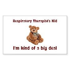 Respiratory Therapist Rectangle Sticker 50 pk)