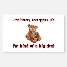 Respiratory Therapist Rectangle Sticker 10 pk)