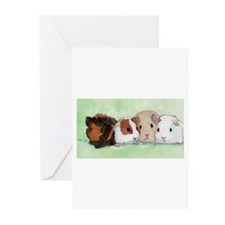 1groupguineapig Greeting Cards