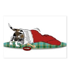 Catahoula Raiding Christmas S Postcards (Package o