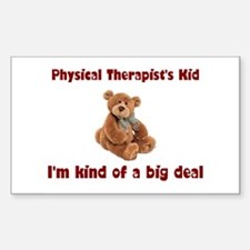 Physical Therapist Rectangle Sticker 10 pk)
