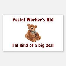 Postal Worker Rectangle Sticker 10 pk)