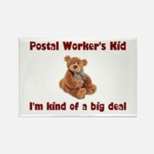 Postal Worker Rectangle Magnet (10 pack)