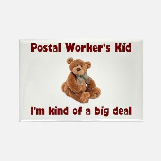 Postal Worker Rectangle Magnet (10 pack)