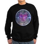 Psychedelic Heart Sweatshirt (dark)