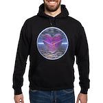 Psychedelic Heart Hoodie (dark)