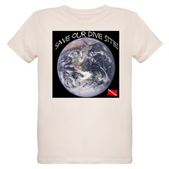 Save Our Dive Site! Organic Kids T-Shirt