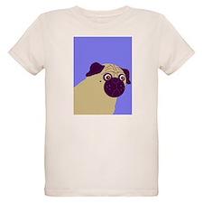 Blue Pug T-Shirt