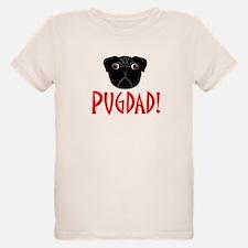 Black Pugdad T-Shirt