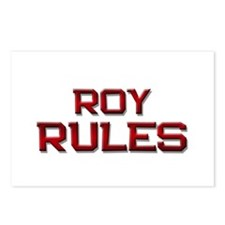roy rules Postcards (Package of 8)