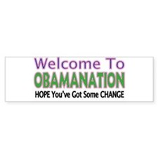 OBAMANATION Bumper Bumper Sticker