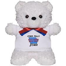 iowa falls iowa - been there, done that Teddy Bear