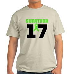 Lymphoma Survivor 17Year T-Shirt