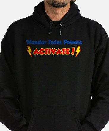 Wonder Twins Powers Activate! Hoodie (dark)