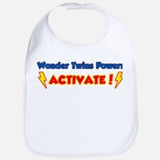 Wonder Twins Powers Activate! Bib