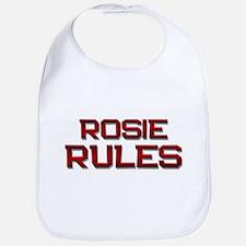 rosie rules Bib