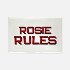 rosie rules Rectangle Magnet