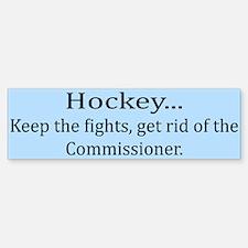 Keep The Fights... Bumper Bumper Bumper Sticker